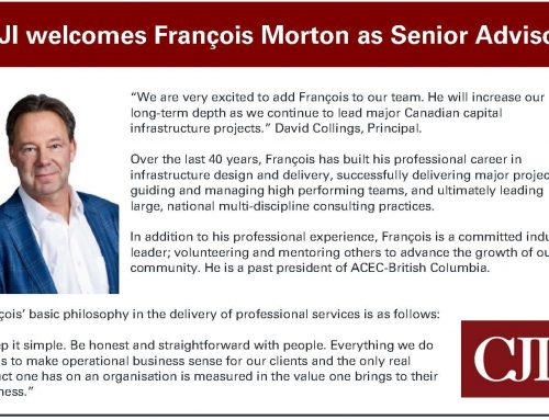 Welcoming to the CJI Team: François Morton!